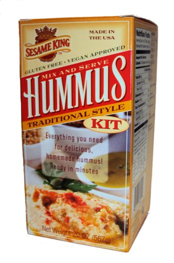 Sesame King Mix & Serve Hummus Kit