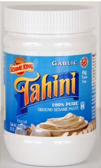 Sesame King Tahini , Garlic- 1 lb.