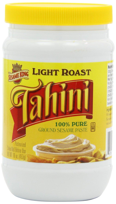 Sesame King Tahini Paste, Light Roast - 1 lb.