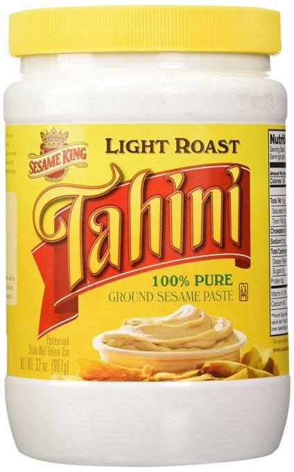 Sesame King Tahini Paste, Light Roast - 2 lb.