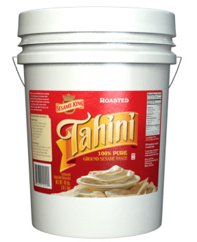 Sesame King Tahini Paste - 40 lb. Pail